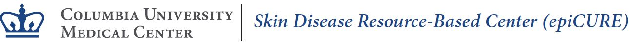 Columbia | epiCURE Skin Disease Resource-based Center logo
